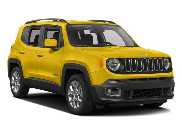 2017 Jeep Renegade Prices and Values Utility 4D Latitude AWD side front view