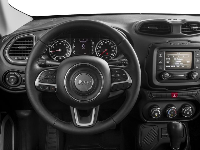 2017 Jeep Renegade Prices and Values Utility 4D Altitude 2WD driver's dashboard
