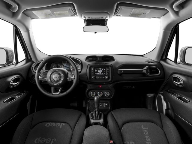 2017 Jeep Renegade Prices and Values Utility 4D Latitude AWD full dashboard