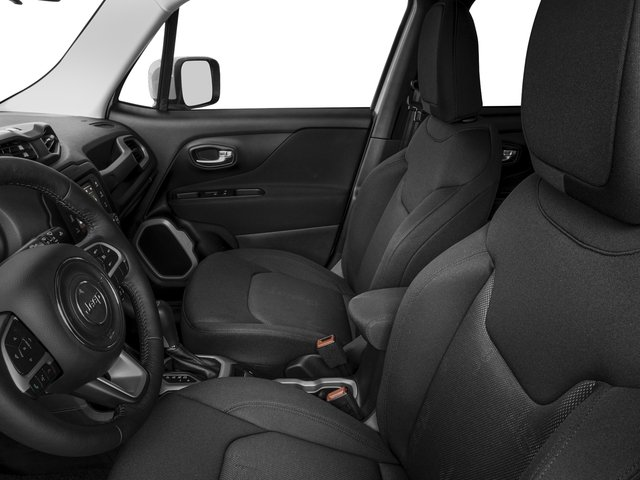 2017 Jeep Renegade Prices and Values Utility 4D Altitude 2WD front seat interior