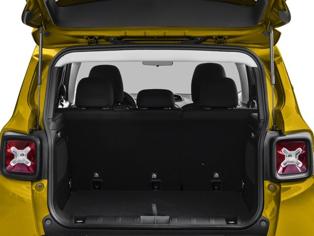 2017 Jeep Renegade Pictures Renegade Utility 4D Altitude 4WD photos open trunk