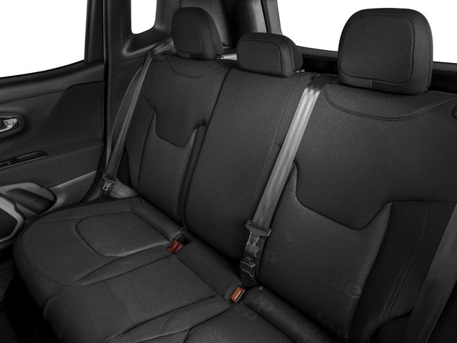 2017 Jeep Renegade Prices and Values Utility 4D Latitude AWD backseat interior