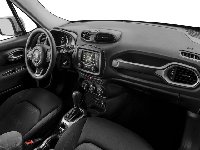 2017 Jeep Renegade Prices and Values Utility 4D Latitude AWD passenger's dashboard