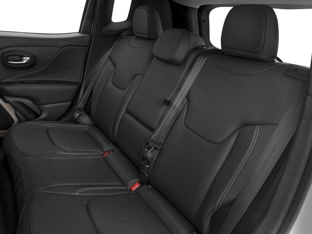 2017 Jeep Renegade Prices and Values Utility 4D Limited AWD backseat interior