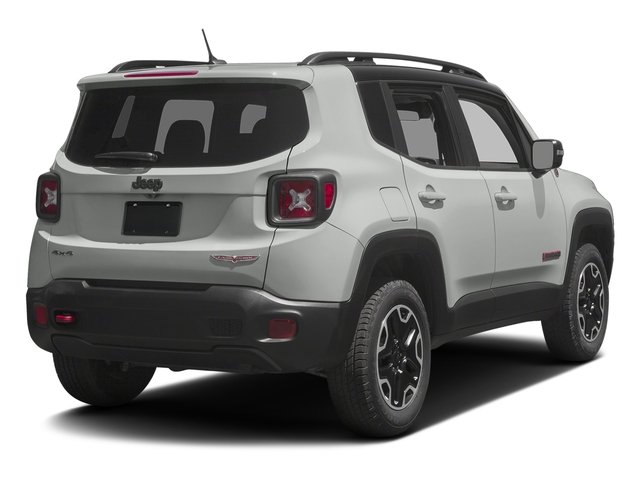 2017 Jeep Renegade Prices and Values Utility 4D Trailhawk AWD side rear view