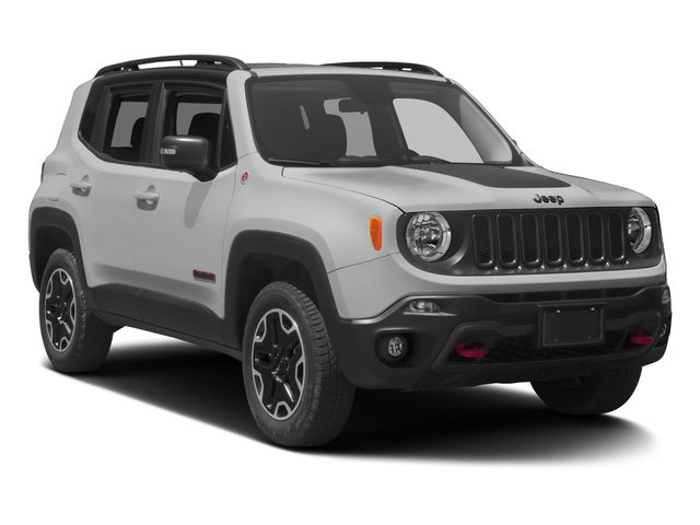 2017 Jeep Renegade Prices and Values Utility 4D Trailhawk AWD side front view