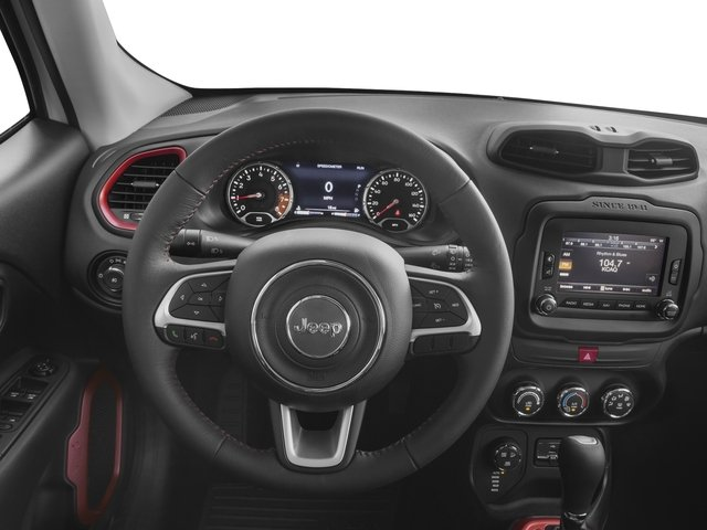 2017 Jeep Renegade Prices and Values Utility 4D Trailhawk AWD driver's dashboard