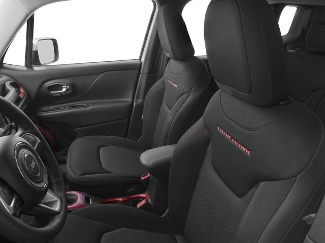 2017 Jeep Renegade Prices and Values Utility 4D Trailhawk AWD front seat interior