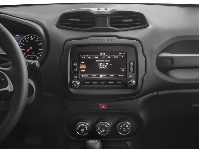 2017 Jeep Renegade Prices and Values Utility 4D Trailhawk AWD stereo system