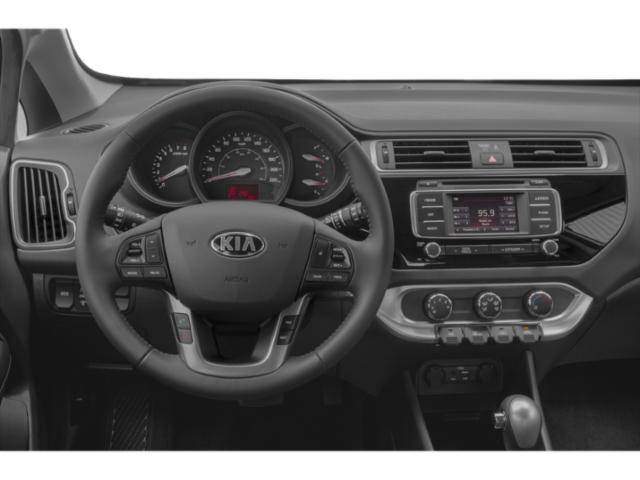 2017 Kia Rio 5-Door Prices and Values Hatchback 5D SX I4 driver's dashboard