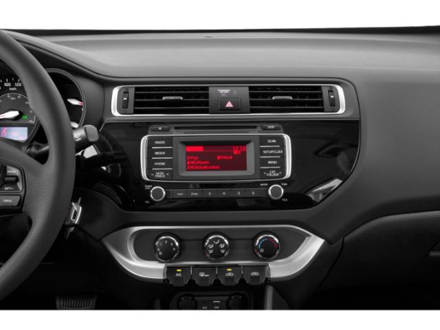2017 Kia Rio 5-Door Prices and Values Hatchback 5D SX I4 stereo system