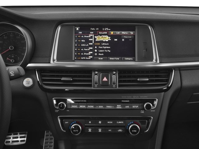 2017 Kia Optima Base Price SX Auto Pricing stereo system