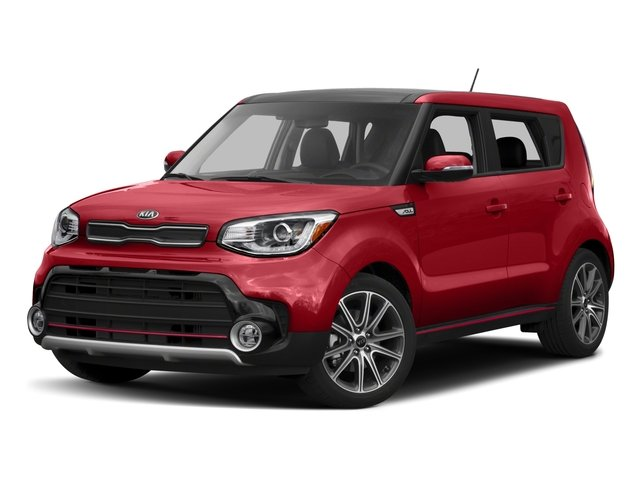 2017 Kia Soul Wagon 4d I4 Side Front View