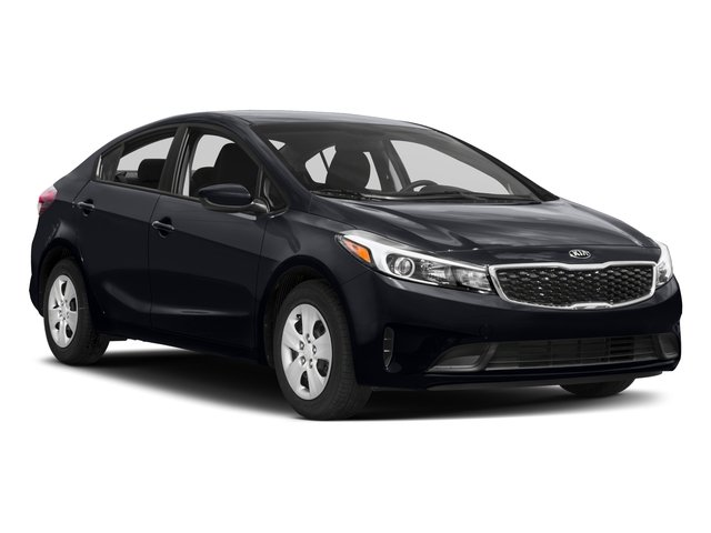 2017 Kia Forte Prices and Values Sedan 4D LX Popular I4 side front view