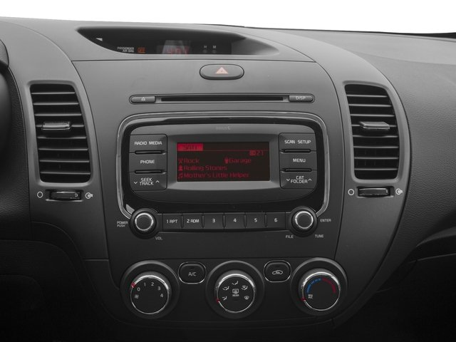 2017 Kia Forte Prices and Values Sedan 4D LX Popular I4 stereo system