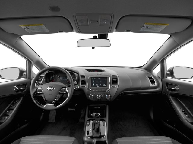 2017 Kia Forte Pictures Forte S Auto photos full dashboard