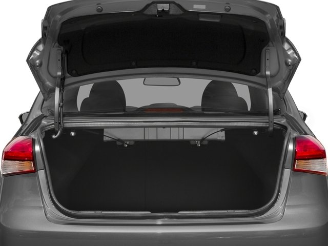 2017 Kia Forte Pictures Forte S Auto photos open trunk