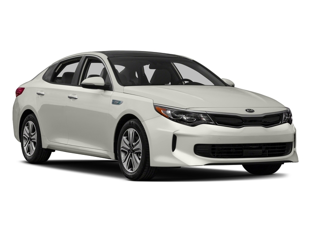 2017 Kia Optima Hybrid Prices and Values Sedan 4D EX I4 Hybrid side front view