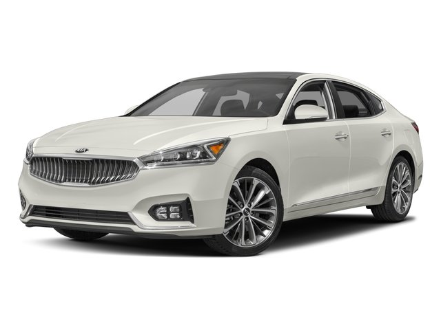 2017 Kia Cadenza Base Price Technology Sedan Pricing side front view