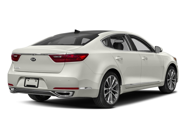 2017 Kia Cadenza Base Price Technology Sedan Pricing side rear view