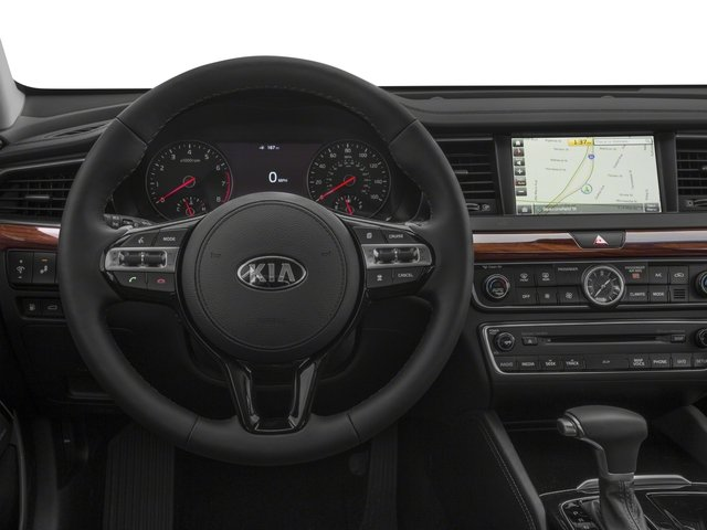 2017 Kia Cadenza Base Price Technology Sedan Pricing driver's dashboard