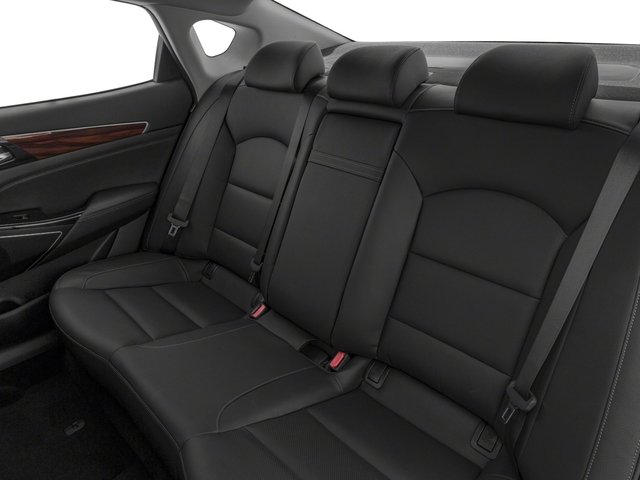 2017 Kia Cadenza Base Price Technology Sedan Pricing backseat interior