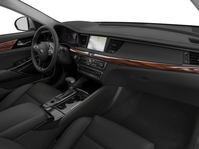 2017 Kia Cadenza Base Price Technology Sedan Pricing passenger's dashboard