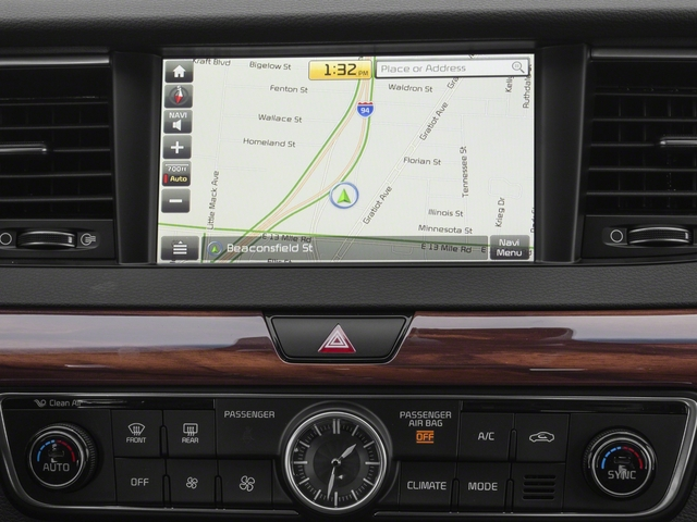 2017 Kia Cadenza Base Price Technology Sedan Pricing navigation system