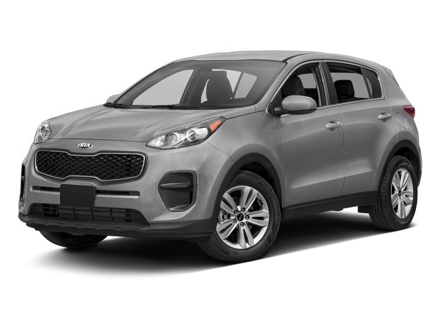 2017 Kia Sportage Base Price LX FWD Pricing side front view