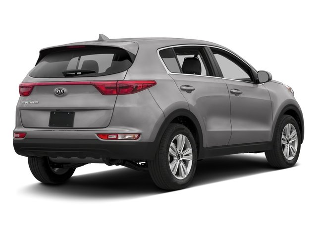2017 Kia Sportage Base Price LX FWD Pricing side rear view