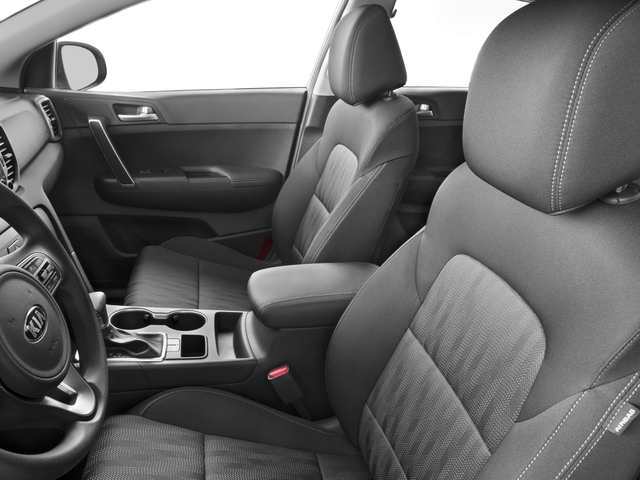 2017 Kia Sportage Base Price LX FWD Pricing front seat interior