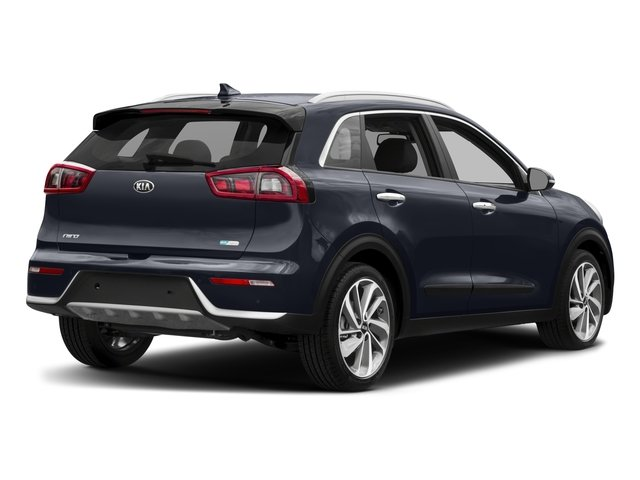 2017 Kia Niro Prices and Values Util 4D Touring Launch 2WD I4 Hybrid side rear view
