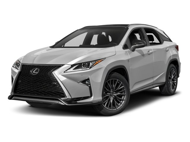 2017 Lexus Rx Base Price 350 F Sport Awd Pricing Side Front View