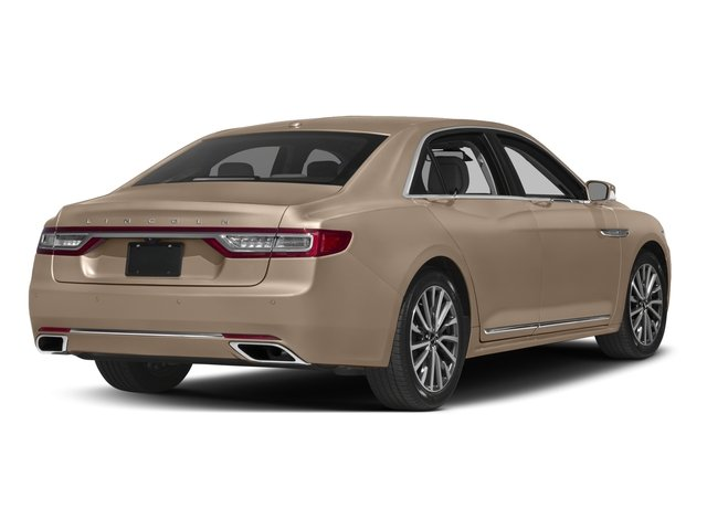 2017 Lincoln Continental Prices and Values Sedan 4D Select V6 side rear view