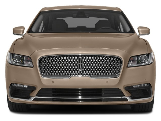 2017 Lincoln Continental Prices and Values Sedan 4D Select V6 front view