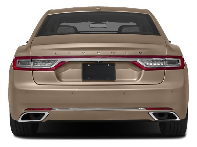 2017 Lincoln Continental Prices and Values Sedan 4D Select V6 rear view
