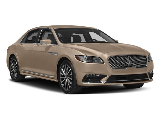 2017 Lincoln Continental Prices and Values Sedan 4D Select V6 side front view