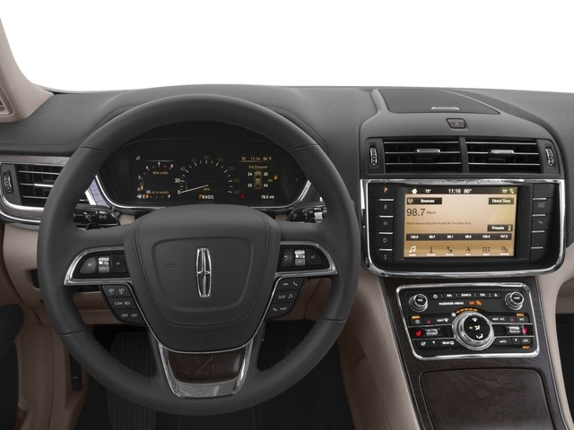 2017 Lincoln Continental Prices and Values Sedan 4D Black Label AWD V6 Turbo driver's dashboard