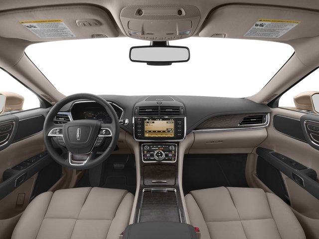 2017 Lincoln Continental Prices and Values Sedan 4D Black Label AWD V6 Turbo full dashboard