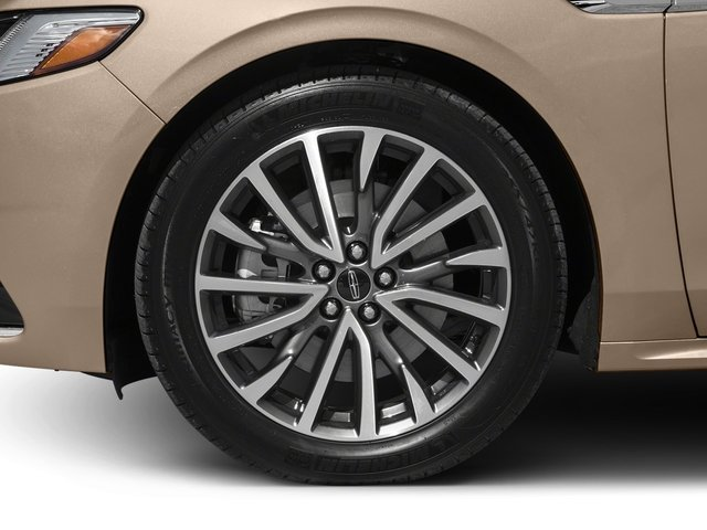 2017 Lincoln Continental Prices and Values Sedan 4D Black Label AWD V6 Turbo wheel