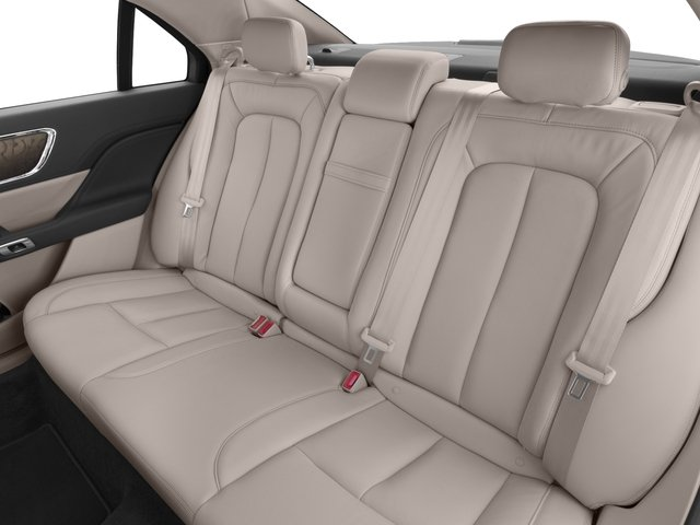 2017 Lincoln Continental Prices and Values Sedan 4D Black Label AWD V6 Turbo backseat interior