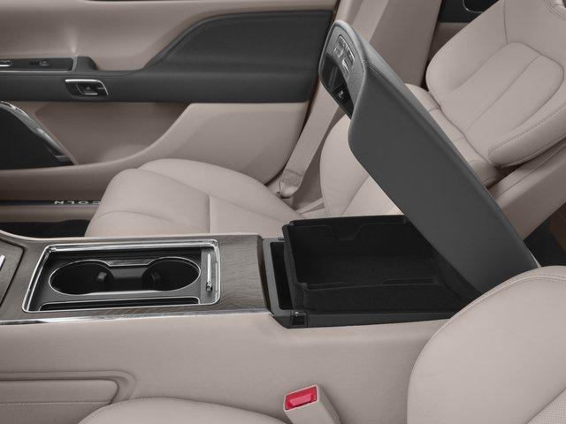 2017 Lincoln Continental Prices and Values Sedan 4D Black Label AWD V6 Turbo center storage console