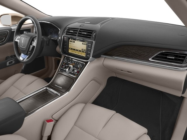 2017 Lincoln Continental Prices and Values Sedan 4D Black Label AWD V6 Turbo passenger's dashboard