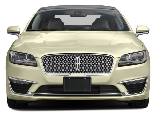 2017 Lincoln MKZ Pictures MKZ Sedan 4D Select AWD I4 photos front view
