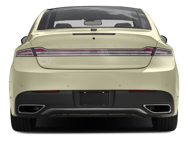 2017 Lincoln MKZ Pictures MKZ Sedan 4D Select AWD I4 photos rear view