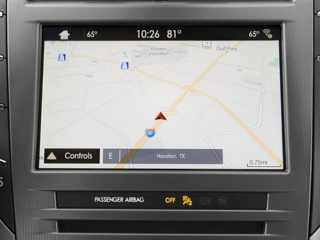 2017 Lincoln MKZ Pictures MKZ Sedan 4D Select AWD I4 photos navigation system