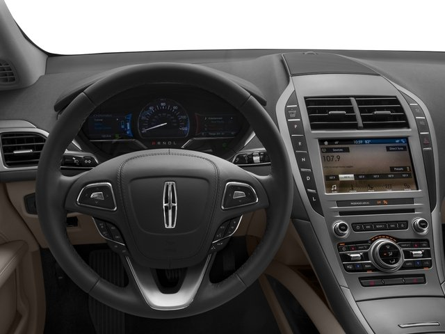 2017 Lincoln MKZ Pictures MKZ Sedan 4D Select I4 Hybrid photos driver's dashboard