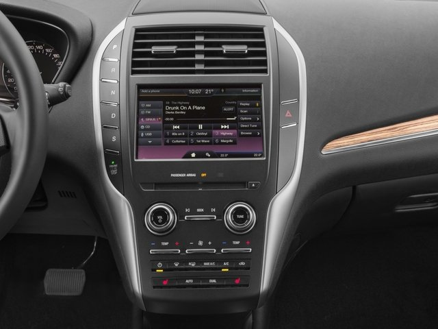 2017 Lincoln MKC Prices and Values Utility 4D Black Label 2WD I4 Turbo stereo system