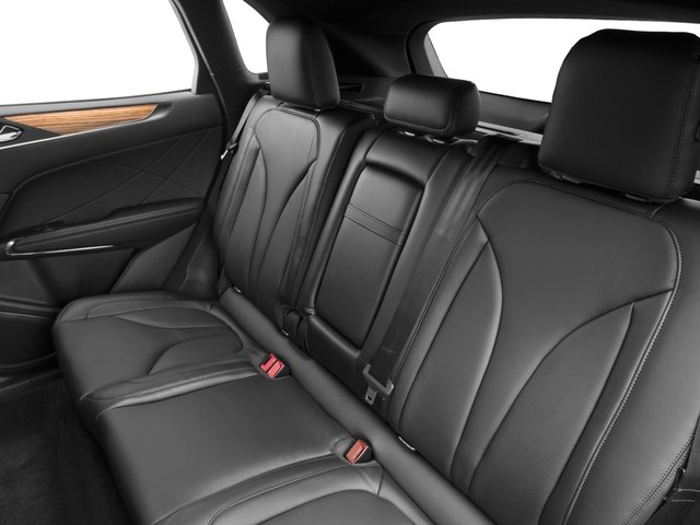 2017 Lincoln MKC Prices and Values Utility 4D Black Label 2WD I4 Turbo backseat interior