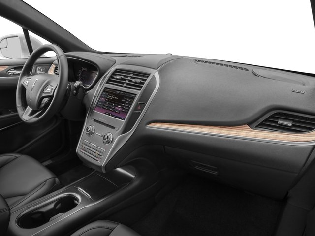 2017 Lincoln MKC Prices and Values Utility 4D Black Label 2WD I4 Turbo passenger's dashboard